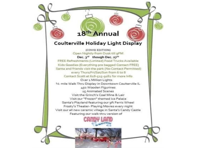Coulterville Holiday Light Display