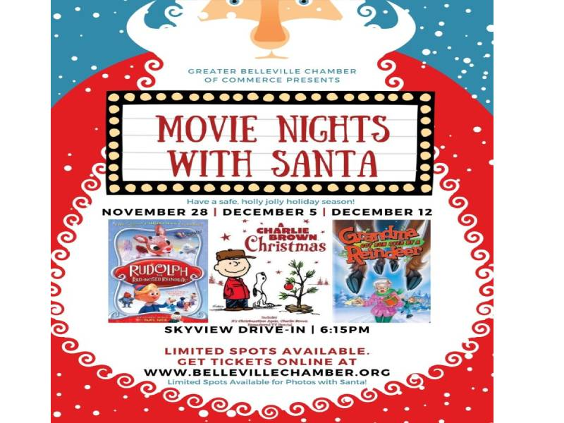 Movie Nights with Santa