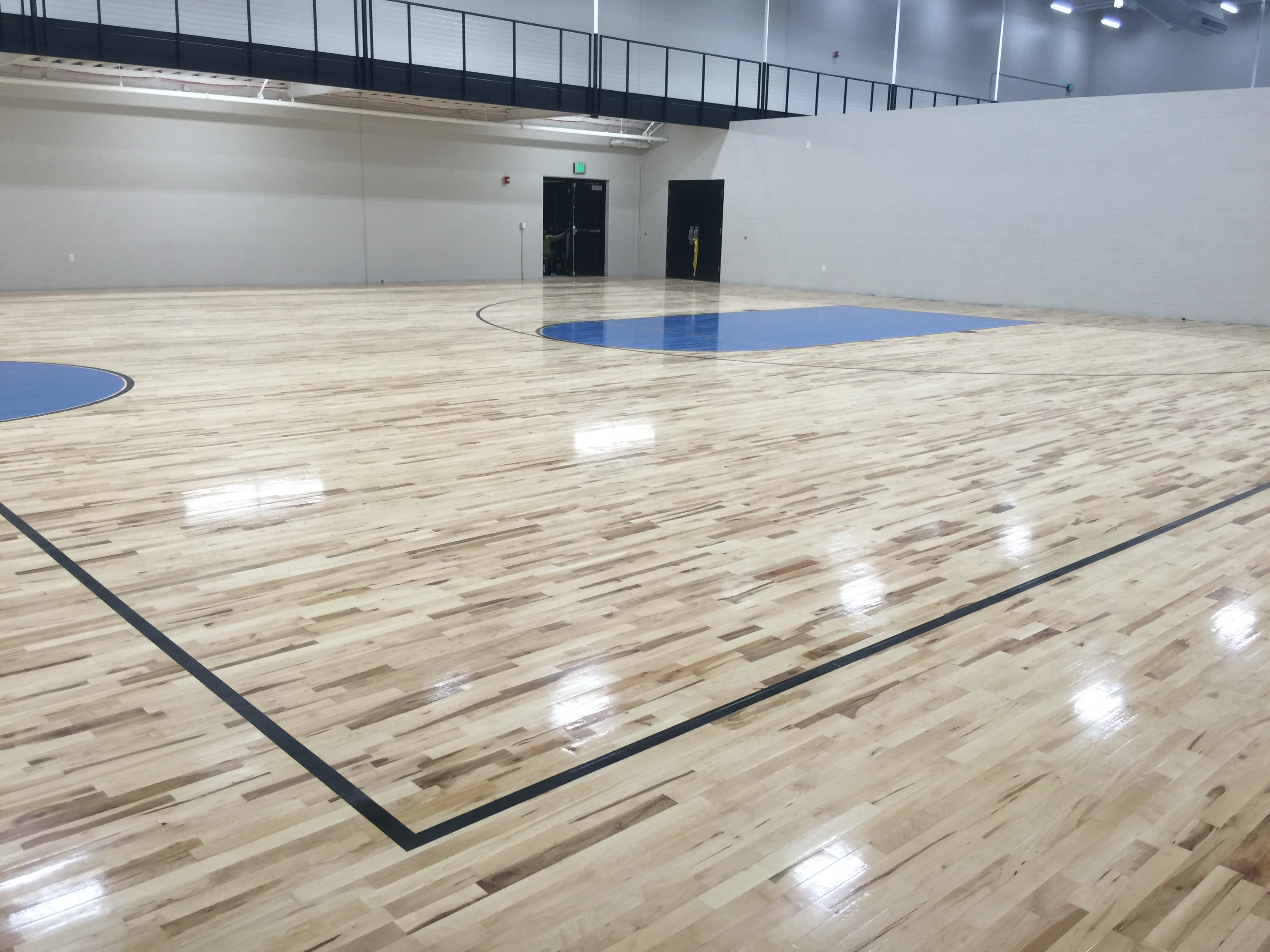 Basketball Court at the McKendree MetroRecPlex