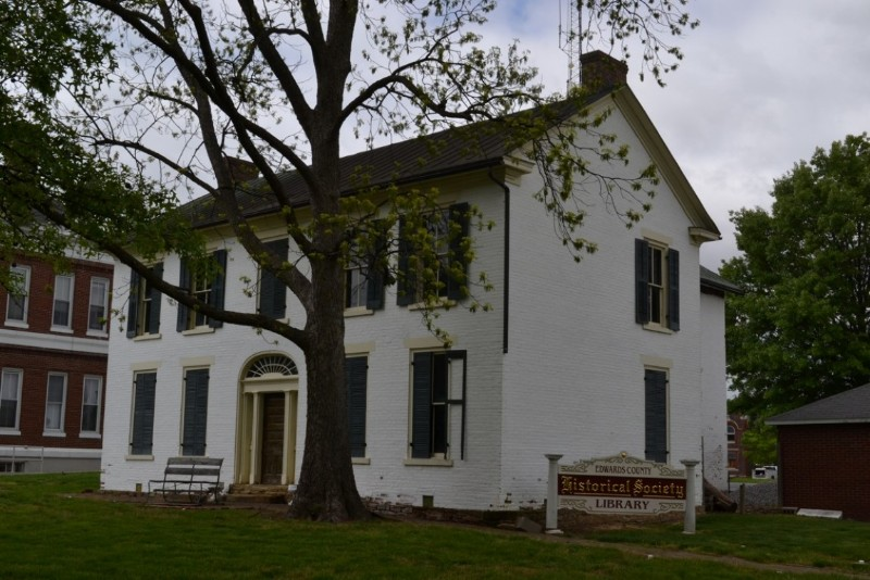 Historic 1859 Edwards County Jail