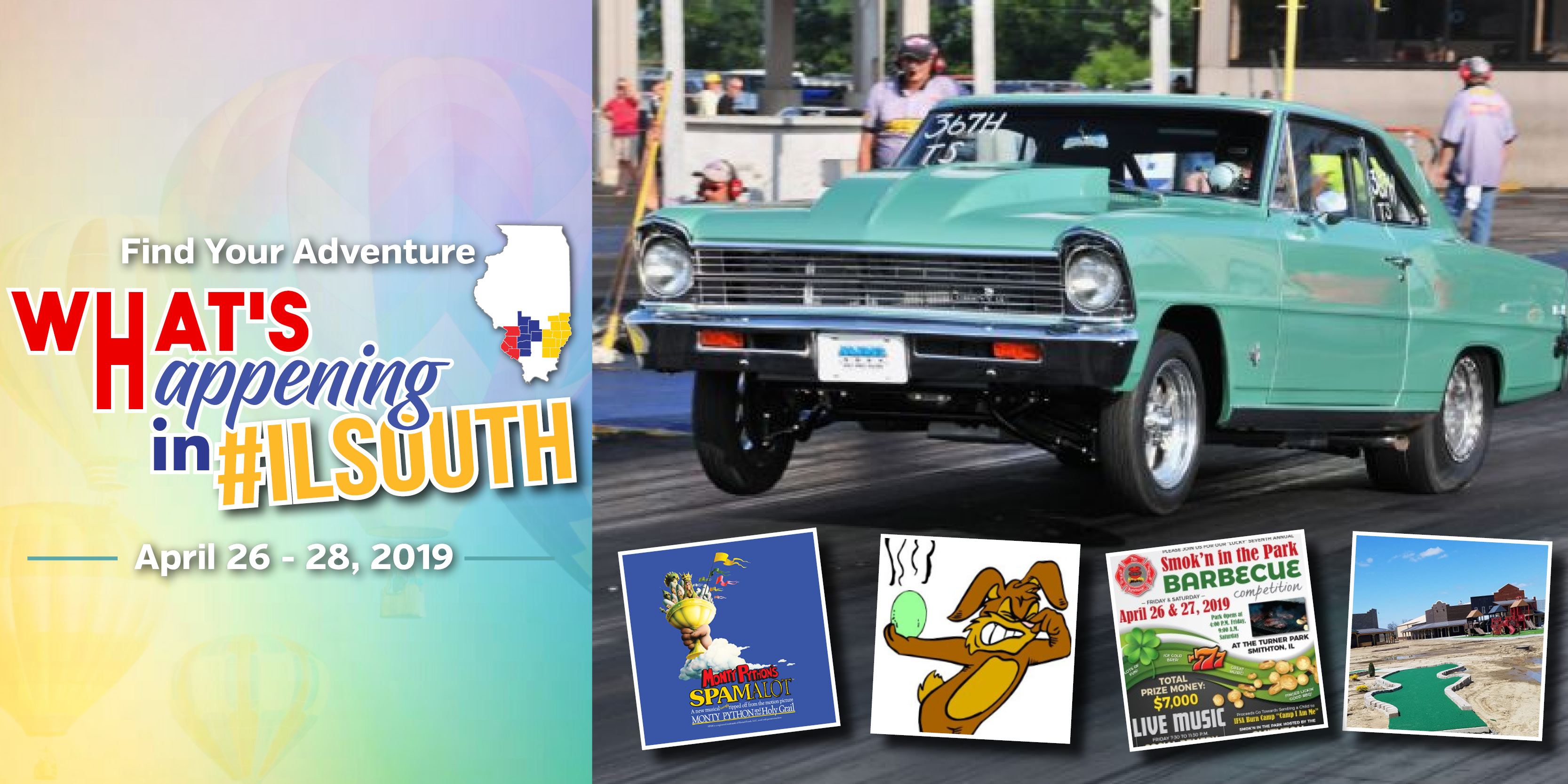 What's Happening in #ILSOUTH this Weekend: April 26-28