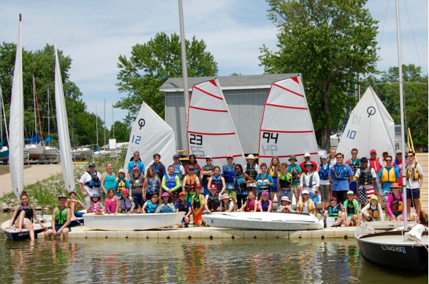 Carlyle Sailing Association Junior Sailing Camp