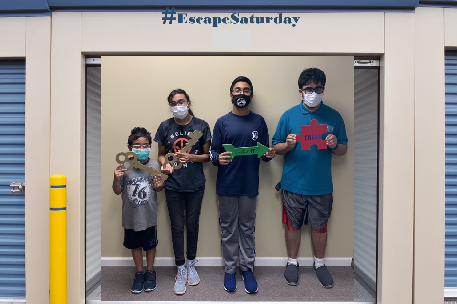 Local Escape Rooms Provide Memorable and Safe Experience